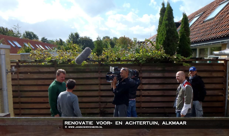 Renovatie voor- en achtertuin, Alkmaar voor TV programma Uitstel van Executie!