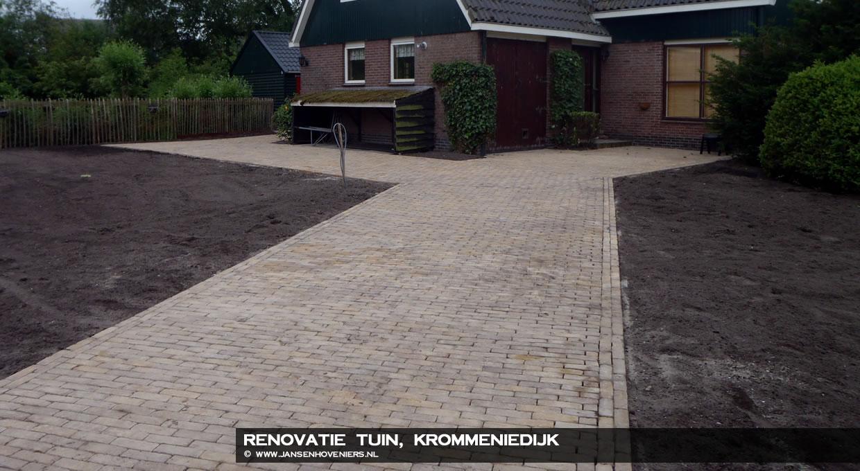 Renovatie tuin Krommeniedijk
