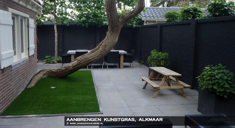 Aanbrengen kunstgras, Alkmaar