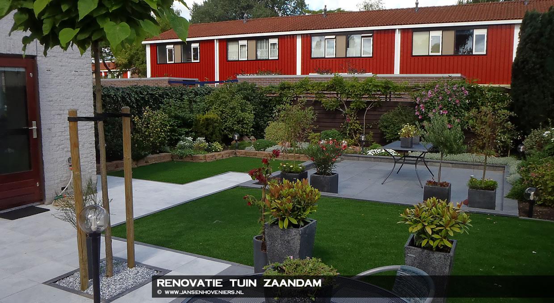 Renovatie tuin, Zaandam
