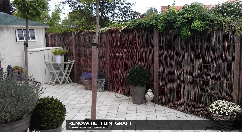 Renovatie tuin, Graft