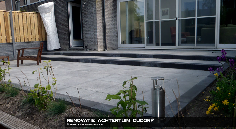 Renovatie achtertuin, Oudorp