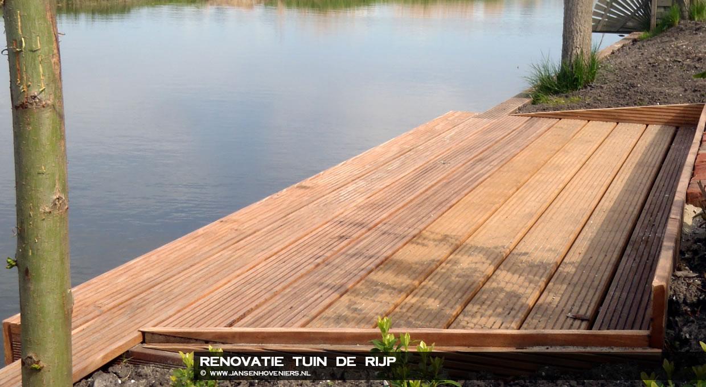 Renovatie tuin, De Rijp