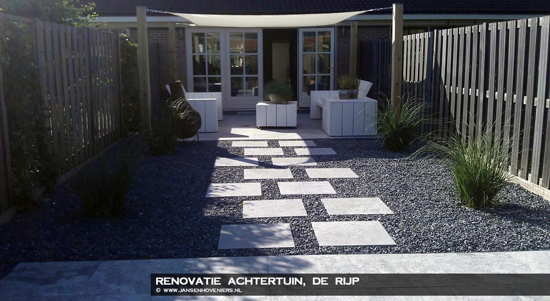Renovatie achtertuin, De Rijp