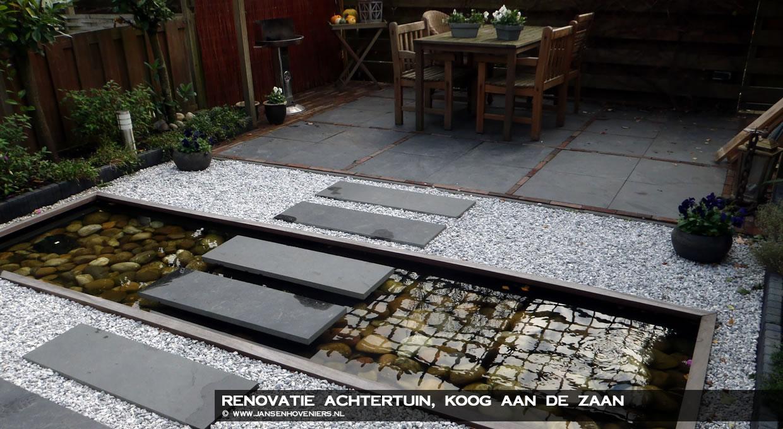 Renovatie achtertuin, Koog aan de Zaan