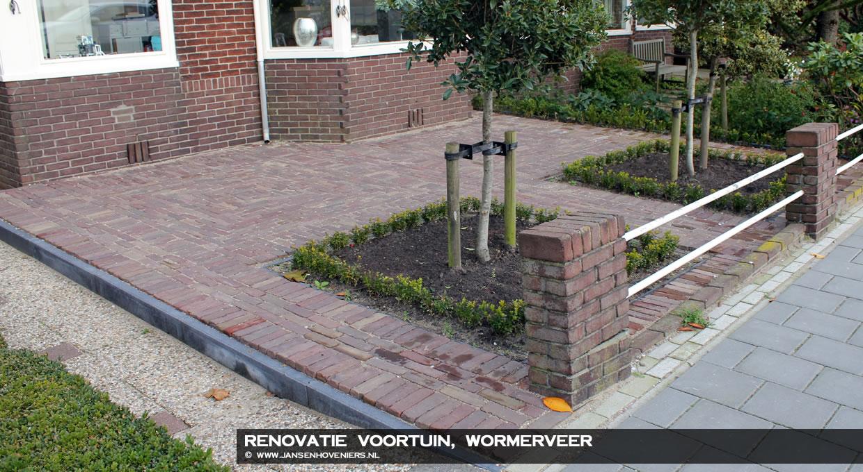 Renovatie voortuin, Wormerveer