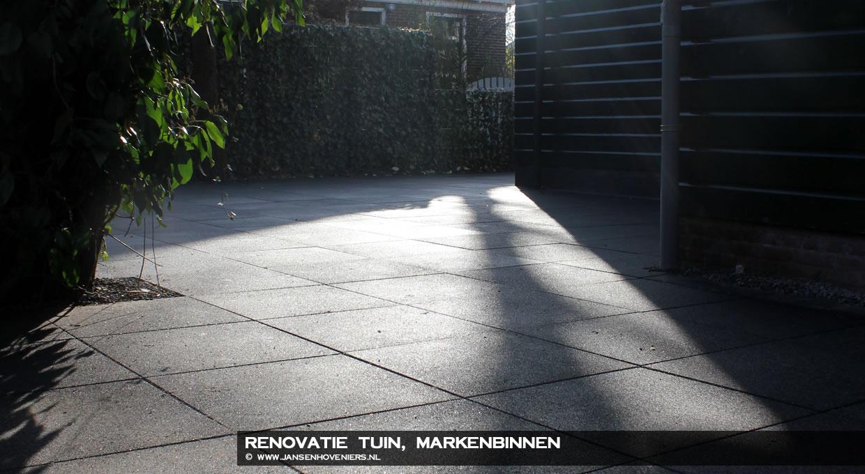 Renovatie Tuin, Markenbinnen