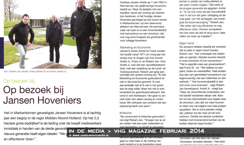 Op bezoek bij Jansen Hoveniers