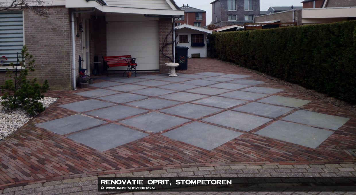 Renovatie oprit, Stompetoren