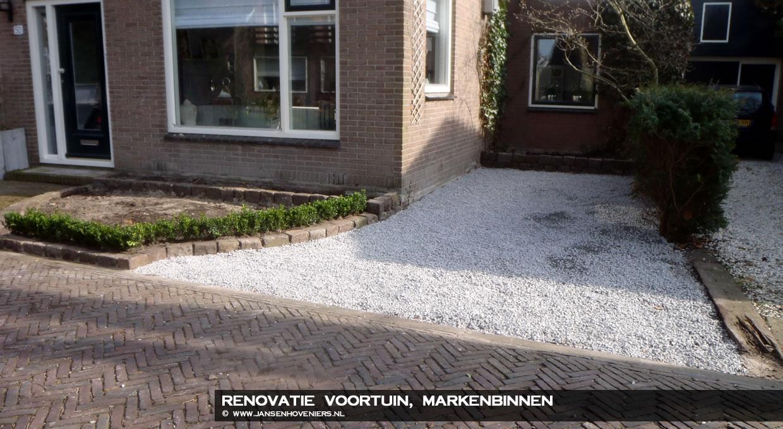 Parkeren In Voortuin : Renovatie voortuin markenbinnen jansen hoveniers markenbinnen l