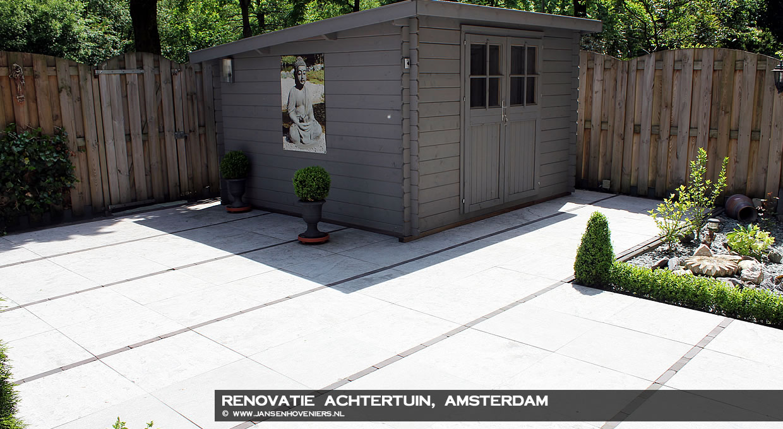 Renovatie achtertuin, Amsterdam