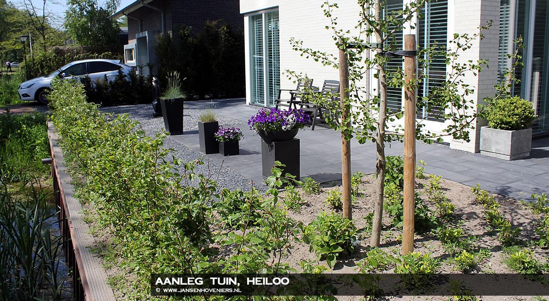 Aanleg tuin, Heiloo