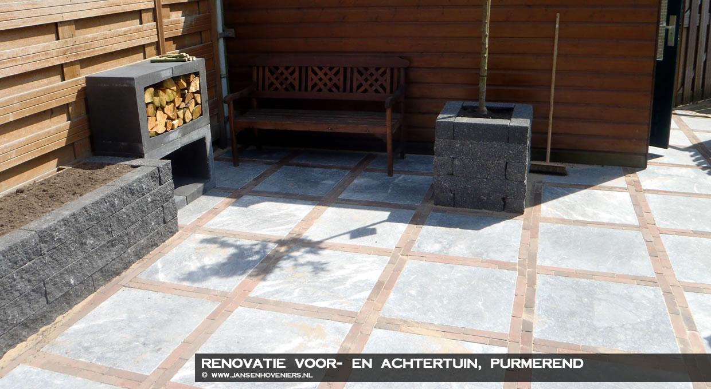 Renovatie voor- en achtertuin, Purmerend