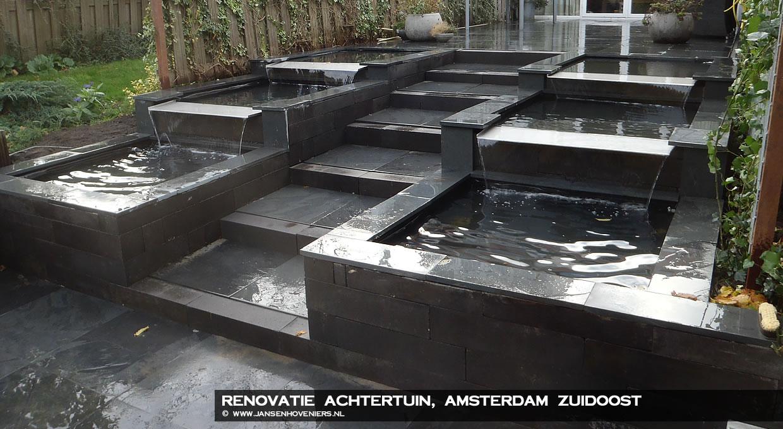 Renovatie achtertuin, Amsterdam Zuidoost