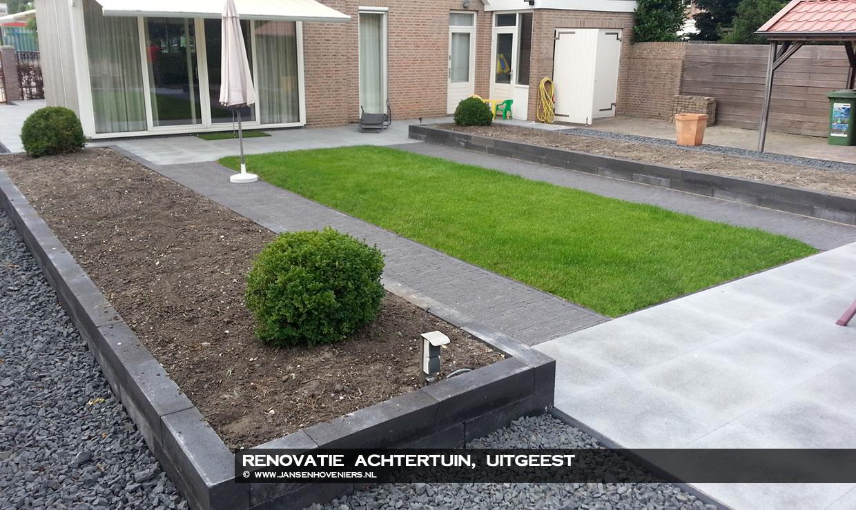 Renovatie achtertuin, Uitgeest