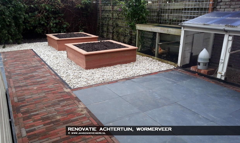 Renovatie achtertuin, Wormerveer