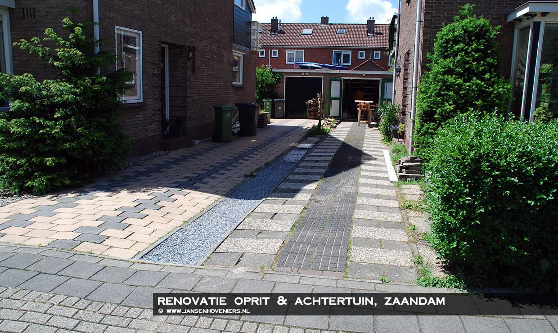 Tegels Voor Oprit : Ophogen verzakt terras en oprit hergebruik van al liggende tegels