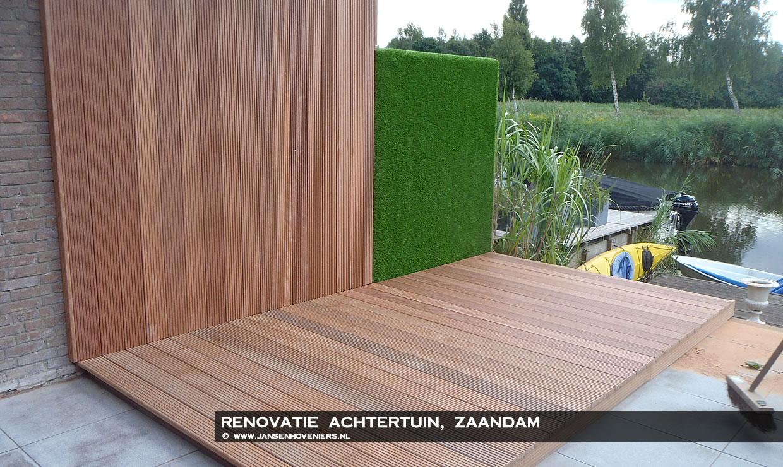 Renovatie achtertuin zaandam jansen hoveniers markenbinnen l hoveniers l tuincentrum l - Alle tuin ...