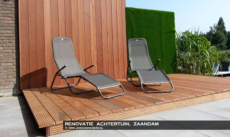 Renovatie achtertuin, Zaandam