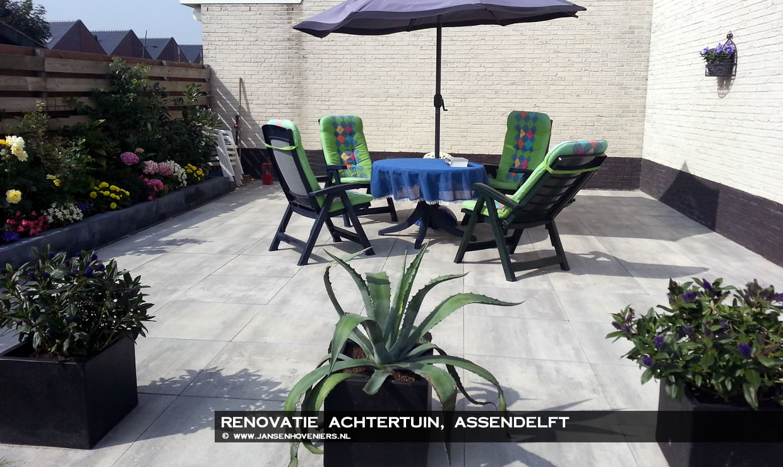 Renovatie achtertuin, Assendelft