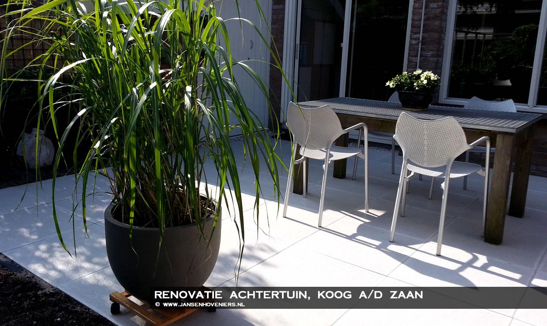 Renovatie achtertuin, Koog a/d Zaan