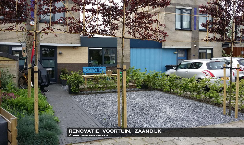 Renovatie voortuin, Zaandijk