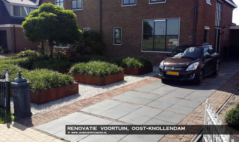 Renovatie voortuin, Oost-Knollendam