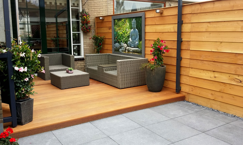 Renovatie achtertuin, Volendam